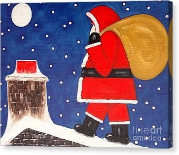 Christmas Eve Canvas Print by Patrick J Murphy