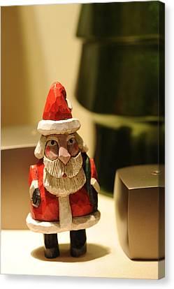 Canvas Print - Christmas Figurine II by Harold E McCray