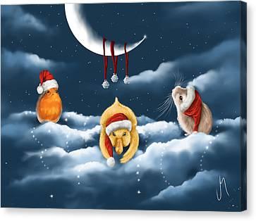 Christmas Games Canvas Print