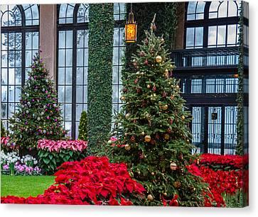 Christmas Garden #2 Canvas Print