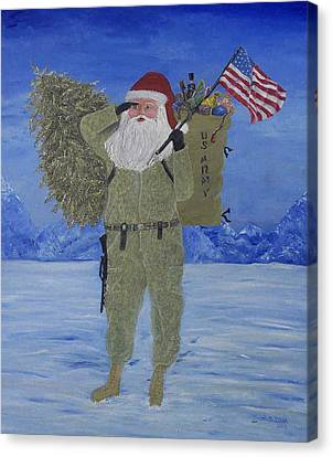 Christmas In Afghanistan  Canvas Print