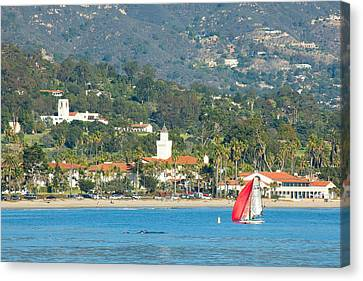 Santa Barbara California Canvas Print