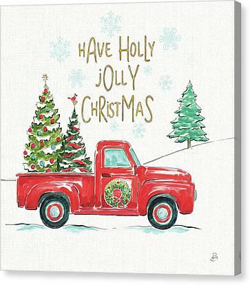 Christmas Truck Canvas Prints Fine Art America