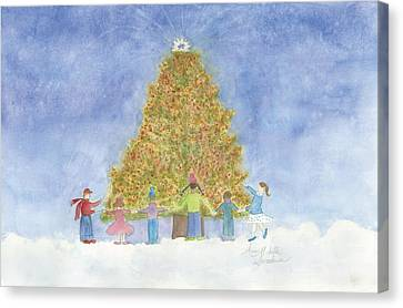 Christmas Magic Canvas Print by Ann Michelle Swadener
