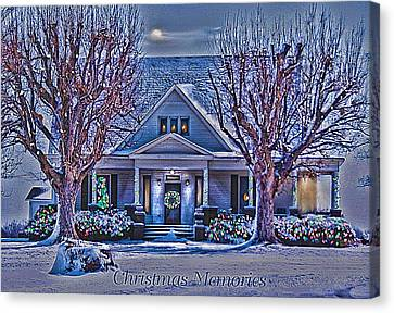 Christmas Memories Canvas Print