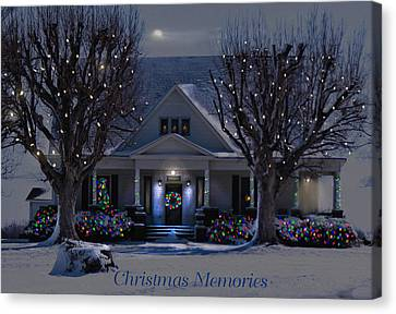 Christmas Memories2 Canvas Print