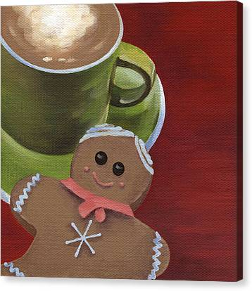 Christmas Morning Canvas Print by Natasha Denger