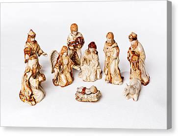 Christmas Nativity Canvas Print