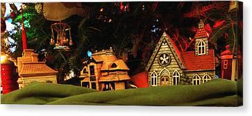 Canvas Print - Christmas Ornaments Vi by Harold E McCray