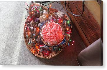 Christmas Pie Canvas Print by Diane Mitchell