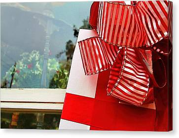 Christmas Present Canvas Print by Audreen Gieger-Hawkins