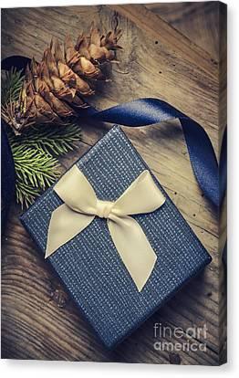 Christmas Present Canvas Print