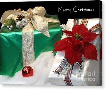 Christmas Presents Canvas Print by Living Color Photography Lorraine Lynch