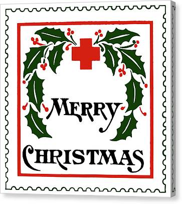 Christmas Seal, 1907 Canvas Print by Granger