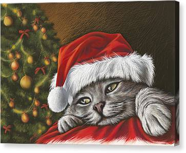 Christmas Special 2 Canvas Print by Mahtab Alizadeh