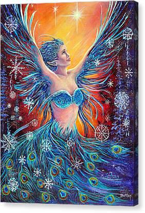 Christmas Spirit Canvas Print by Gail Butler