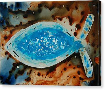 Spirit  - Fish Art By Sharon Cummings Canvas Print by Sharon Cummings