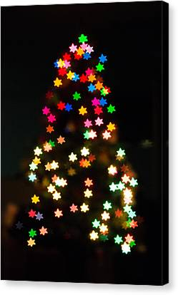 Christmas Stars Canvas Print by Mike Lee