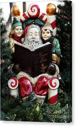Christmas Stories Canvas Print by John Rizzuto