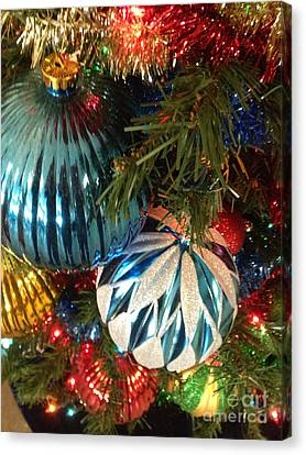 Christmas Time Canvas Print by Janet Felts