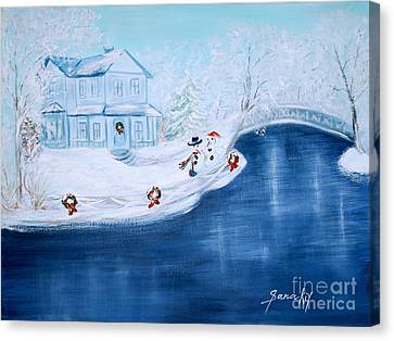 Christmas Time Canvas Print