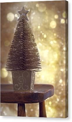 Christmas Tree Canvas Print by Amanda Elwell