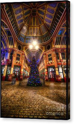 Christmas Tree Leadenhall London I Canvas Print