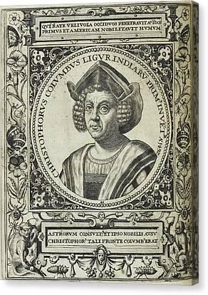 Christopher Columbus Canvas Print