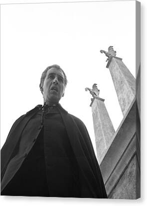 Christopher Lee In Dracula: Prince Of Darkness  Canvas Print