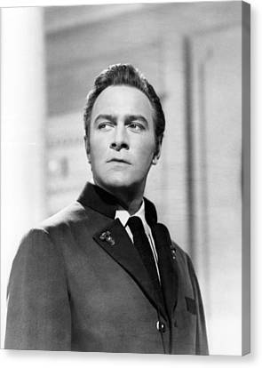 Christopher Plummer In The Sound Of Music  Canvas Print by Silver Screen
