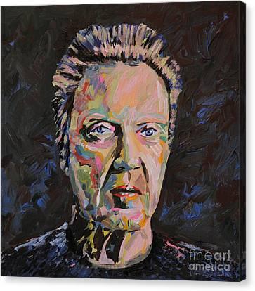 Christopher Walken Portrait Canvas Print
