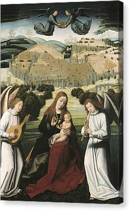 Christus, Petrus. The Virgin Canvas Print by Everett