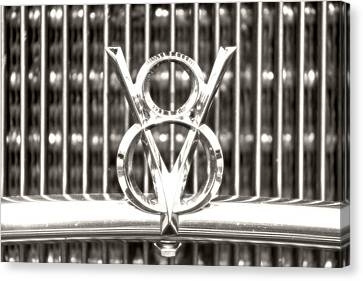 Chrome V8 Canvas Print by Michael Allen