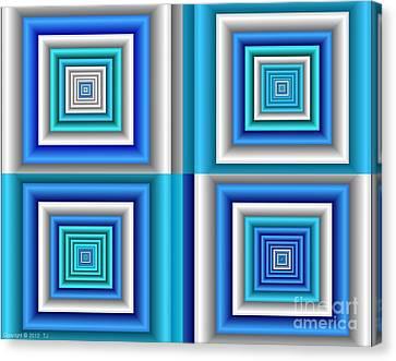 Chromodynamic  5 Canvas Print