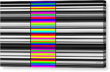 Chromotherapy Part One Canvas Print by Sir Josef - Social Critic - ART