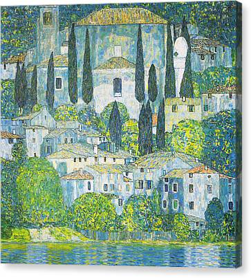 Chruch In Cassone Canvas Print by Celestial Images