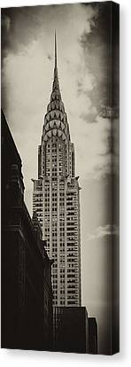 Chrysler Building Canvas Print - Chrysler by Andrew Paranavitana