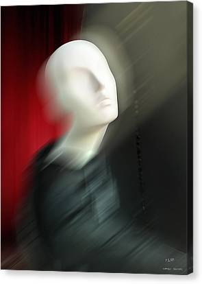 Canvas Print featuring the digital art Chrysalis by Pedro L Gili
