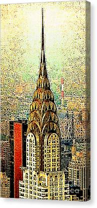 Chrysler Building New York City 20130503 Canvas Print by Wingsdomain Art and Photography