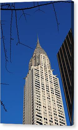 Chrysler Building Canvas Print by Robert  Moss