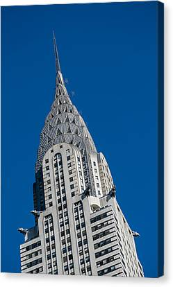 Chrysler Building Canvas Print - Chrysler Building by Susan Candelario