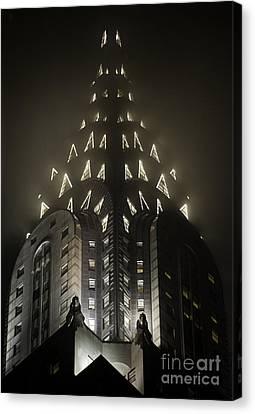 Chrysler Fog Lights Canvas Print