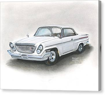 Chrysler Canvas Print by Heather Gessell