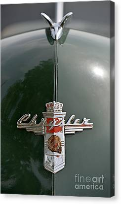 Chrysler Canvas Print - 1948 Chrysler Windsor by George Atsametakis