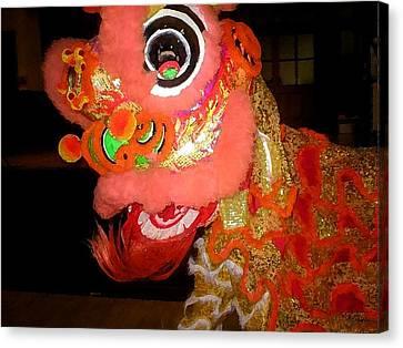 Chua Truc Lam Dragon Canvas Print by Shawn Lyte