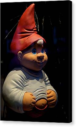 Chubby Elf Canvas Print by Odd Jeppesen