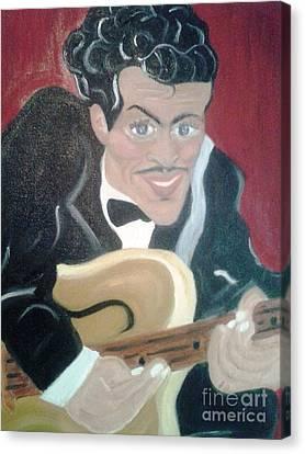 Chuck Berry Canvas Print