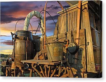 Chuck Wagon Sky Canvas Print by Robert Anschutz