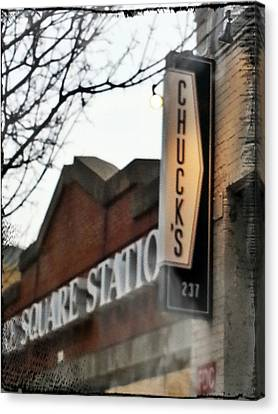 Chuck's Raleigh Canvas Print by Paulette B Wright