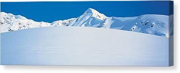 Chugach Mountains Girdwood, Alaska, Usa Canvas Print